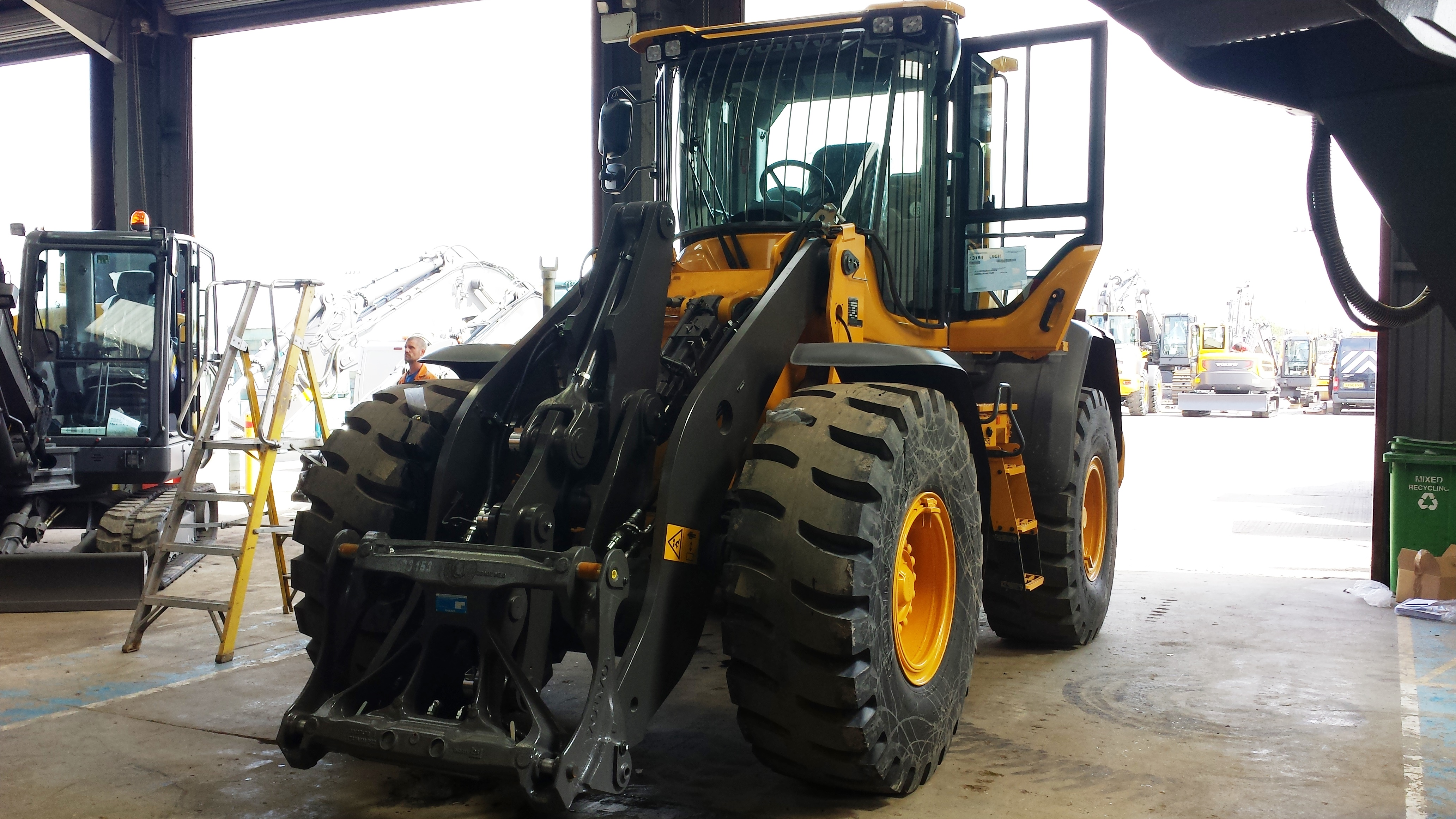 New Volvo L90H - Stevens Equipment Rental